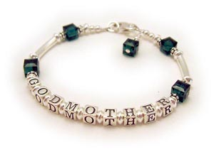 God Mother Bracelet in Sterling Silver