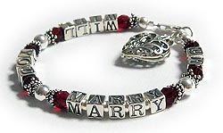 Will you marry me bracelet